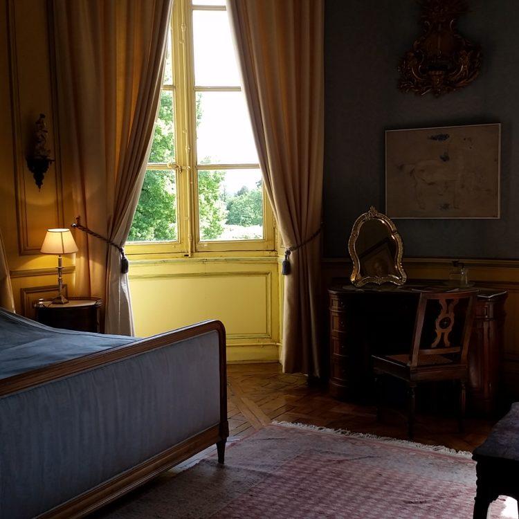 Chambre Ovale, Château de Craon
